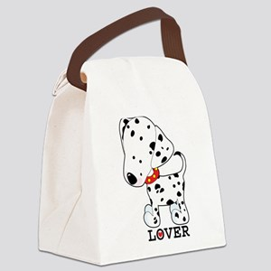 dalmation lover Canvas Lunch Bag