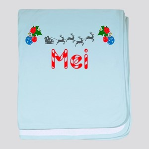 Mei, Christmas baby blanket