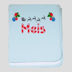 Meis, Christmas baby blanket