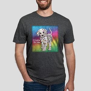 I Gotta Be Me dalmatian Mens Tri-blend T-Shirt