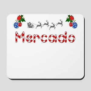 Mercado, Christmas Mousepad