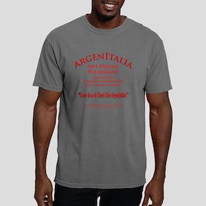 Argen Italia Restaurant Mens Comfort Colors Shirt