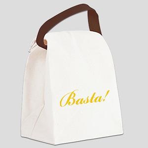 basta enough 3 Canvas Lunch Bag