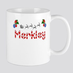 Merkley, Christmas Mug