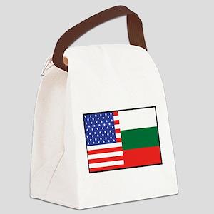 america_bulgaria Canvas Lunch Bag