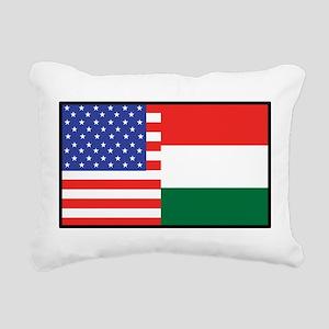america_hungary Rectangular Canvas Pillow