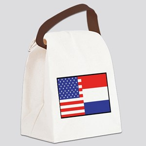 america_holland Canvas Lunch Bag