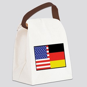 america_germany Canvas Lunch Bag