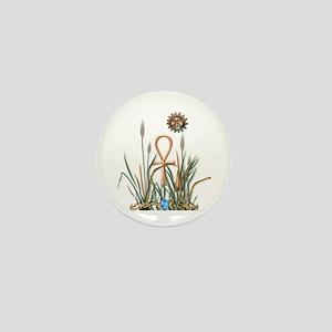 Nature's Ankh Mini Button