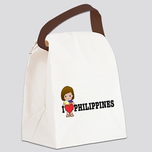 love_philipines Canvas Lunch Bag