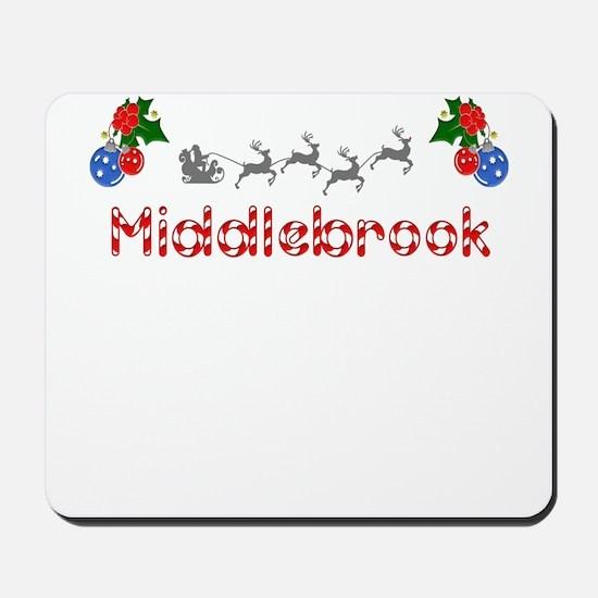 Middlebrook, Christmas Mousepad