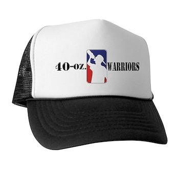 40-oz Logo - Trucker Hat