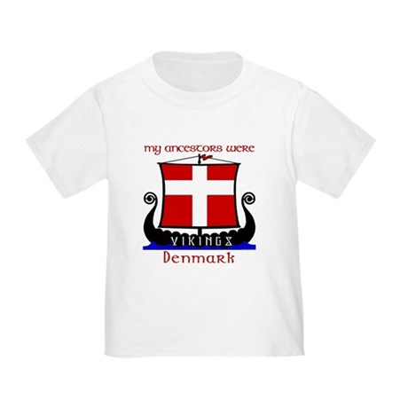 Danish Viking Ancestors Toddler T-Shirt