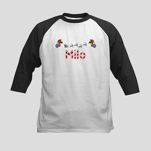 Milo, Christmas Kids Baseball Jersey