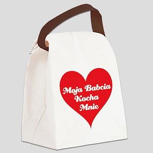 grandma_loves_me_polish Canvas Lunch Bag