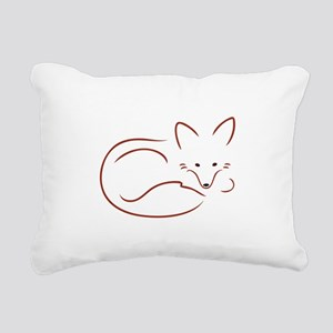 Vulpes Vulpes Rectangular Canvas Pillow