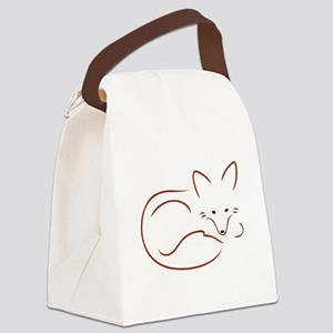 Vulpes Vulpes Canvas Lunch Bag