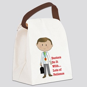 doctor pod Canvas Lunch Bag