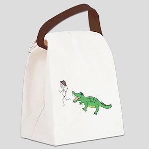 Christa Doodles Canvas Lunch Bag
