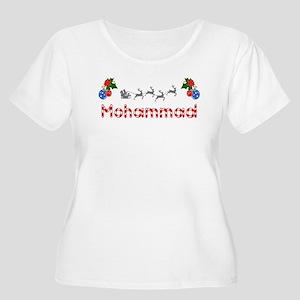 Mohammad, Christmas Women's Plus Size Scoop Neck T