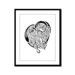 Heart of Tears Framed Panel Print