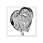 Heart of Tears Square Sticker 3