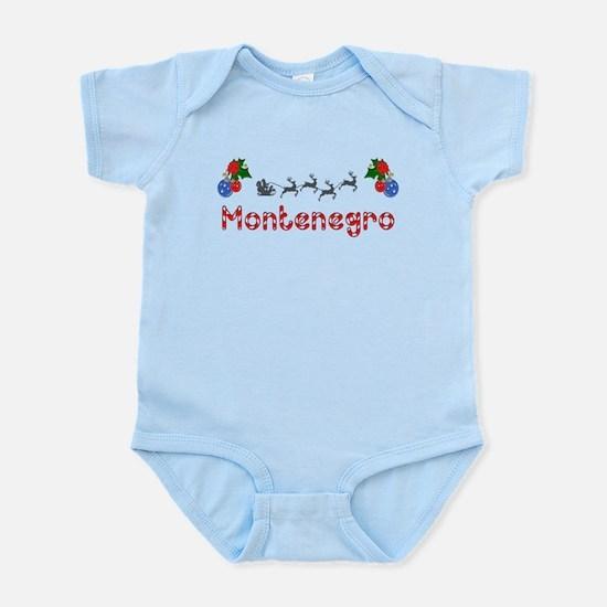 Montenegro, Christmas Infant Bodysuit