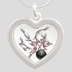 Strike Silver Heart Necklace