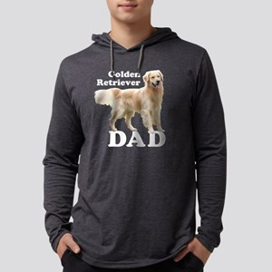 GoldenDadWhiteMerge Mens Hooded Shirt