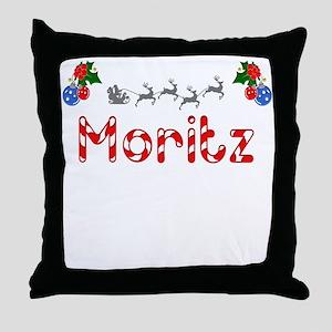 Moritz, Christmas Throw Pillow