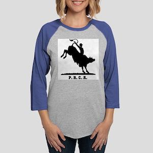 12-rodeo-bull-rider-3 Womens Baseball Tee