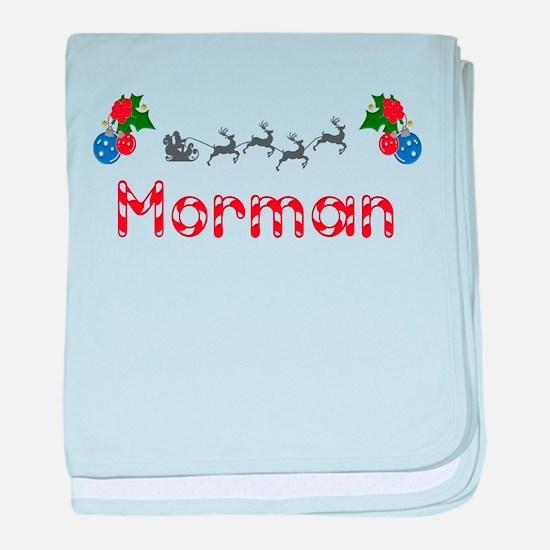 Morman, Christmas baby blanket