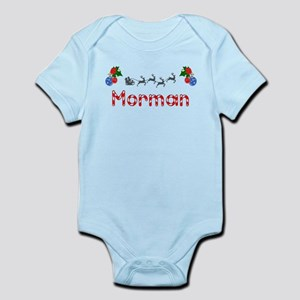 Morman, Christmas Infant Bodysuit