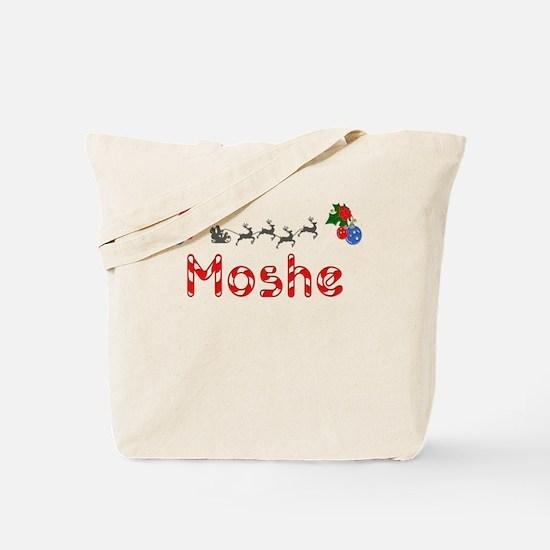 Moshe, Christmas Tote Bag
