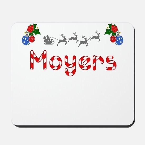 Moyers, Christmas Mousepad