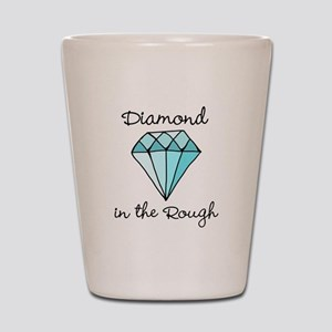 'Diamond in the Rough' Shot Glass