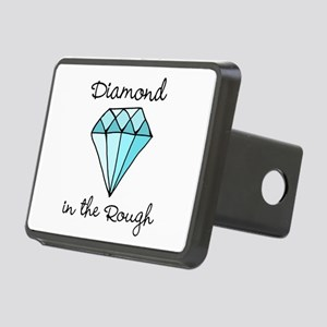 'Diamond in the Rough' Rectangular Hitch Cover