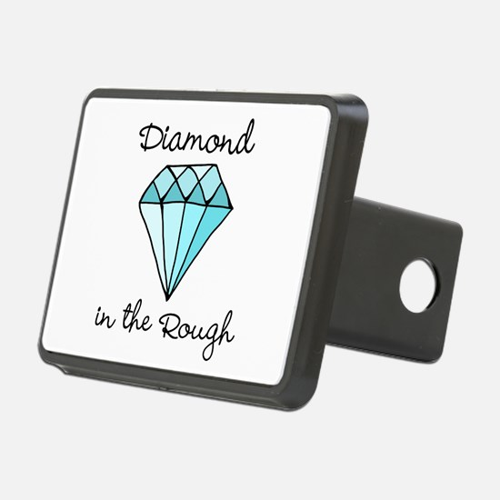 'Diamond in the Rough' Hitch Cover