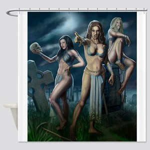 Brides of Dracul Shower Curtain