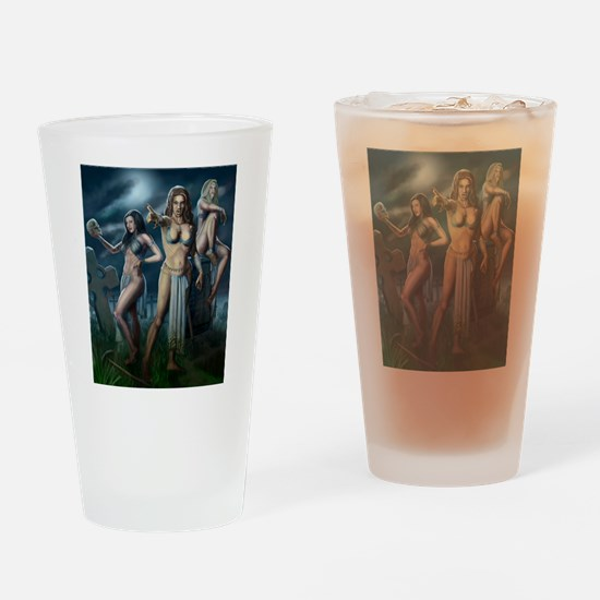Brides of Dracul Drinking Glass