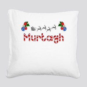Murtagh, Christmas Square Canvas Pillow