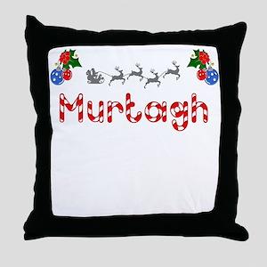 Murtagh, Christmas Throw Pillow