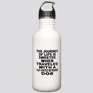 Traveled With Flat-Coa Stainless Water Bottle 1.0L