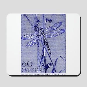1979 Sweden Dragonfly Postage Stamp Mousepad