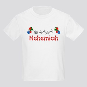 Nehemiah, Christmas Kids Light T-Shirt