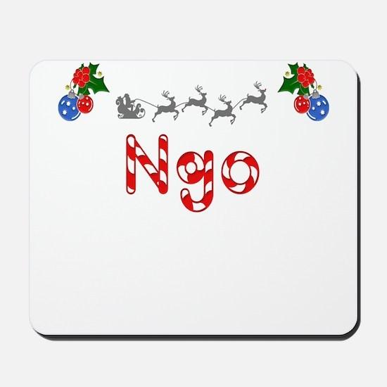 Ngo, Christmas Mousepad
