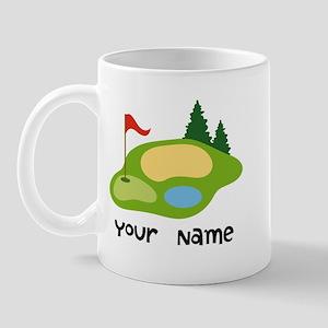 Personalized Golfing Mug