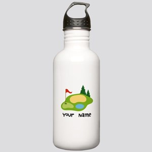 Personalized Golfing Stainless Water Bottle 1.0L