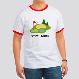 Personalized Golfing Ringer T