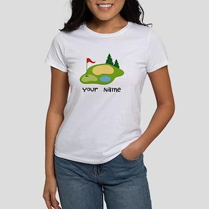Personalized Golfing Women's T-Shirt